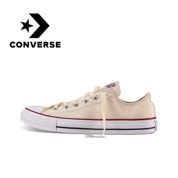 Converse Men and Women Classic Canvas Skateboarding Shoes Low Top Non-slip Durab