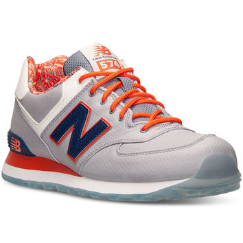 New Balance Men's 574 Luau Casual Sneakers from Finish Line
