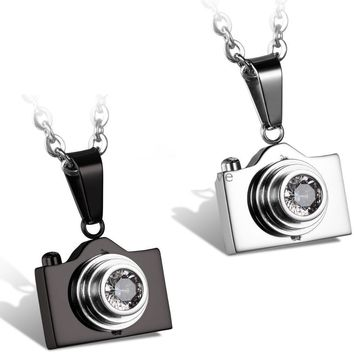 Fashion Jewelry Camera Necklaces Pendants Stainless Steel Fashion Designer