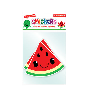 Jumbo Scratch and Sniff Watermelon Sticker