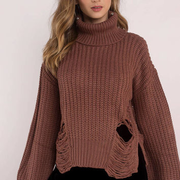 Pumpkin Patch Turtleneck Sweater