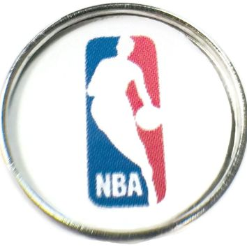 NBA Basketball Logo 18MM - 20MM Fashion Snap Jewelry Snap Charm New Item