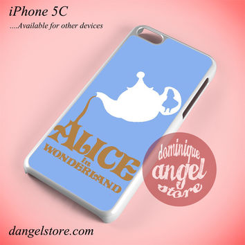 Alice In Wonderland Tea Cup Phone case for iPhone 5C and another iPhone devices