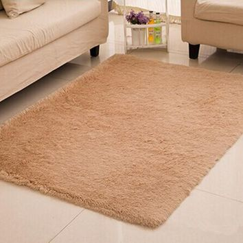 Home textile living room carpet big size mat long hair bedroom carpet tea table carpet bedroom mat 140*200cm carpet morden brief