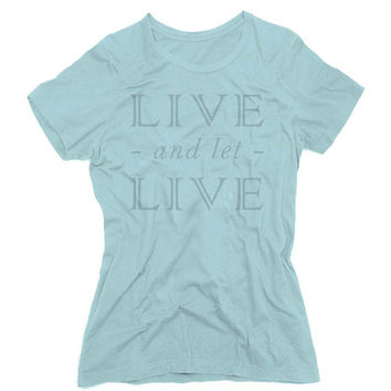 Live and Let Live Graphic Tee (mj-os-NL3900-liveletlive-gry)