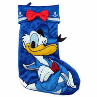 "disney parks 20"" christmas holiday stocking donald duck icons new with tag"