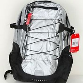 2014 THE NORTH FACE WOMEN'S BOREALIS BACKPACK CE86S6E METALLIC SILVER/BLACK (T)