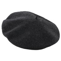 100% Wool 11 Inch Beret by Dorfman Pacific