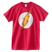 Flash Men's Logo Graphic Tee - Red