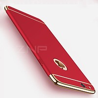 Luxury Plating Scrub Protective case For iPhone X 10 Cover Bumper On The for Apple iPhone X 5 5S SE 6 6s 7 8 Plus Case Shell