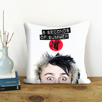 Michael Clifford 5 Seconds of Summer AmazingPillowCover , Pillow Case , Pillow Cover , Custom Pillow Cover