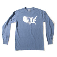 "Blue ""Ain't Texas"" Long Sleeve T-Shirt"
