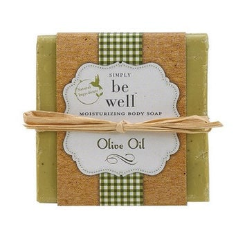 San Francisco Soap Co. Be Well Hand Crafted Bar - Olive Oil