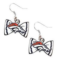 Denver Broncos Women's Bow Tie Earrings