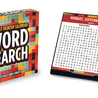 2017 Word Search Daily Desktop