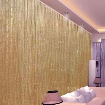 Shiny Tassel Flash Line String Curtain