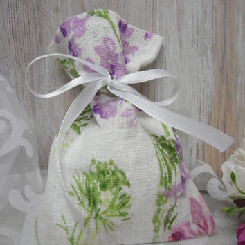 White Linen Bags. Floral Gift Bags. Small Favor Bags 25. Party Favor Bag. Burlap Linen Bags