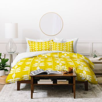 Heather Dutton Abadi Sunburst Duvet Cover