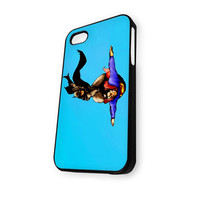 Batman And Superman Flying iPhone 4/4S Case