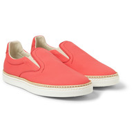 Maison Martin Margiela - Leather Slip-On Sneakers | MR PORTER
