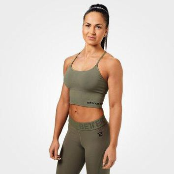 Better Bodies Astoria Seamless Cropped Short Top Bra