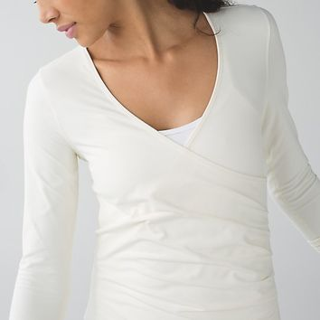 sunset salutation long sleeve | women's sweaters | lululemon athletica