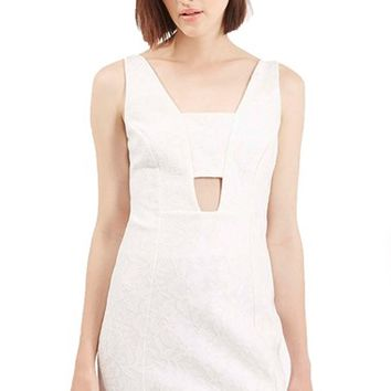Women's Topshop Bonded Lace Body-Con Dress,