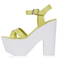 LAUNCH Platform Sandals - Shoes