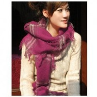 Fashion Style Laconic and Mix-Matched Checker Pattern Scarf China Wholesale - Everbuying.com