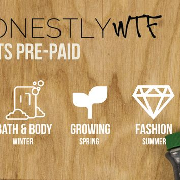 HonestlyWTF 3 Kits Pre-Paid