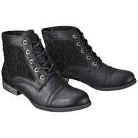 Women's Mossimo Supply Co. Kessi Crochet Boot - Black
