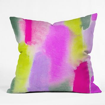 Rebecca Allen Budding Throw Pillow