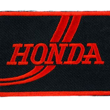 Honda Auto Patch Iron on Applique Alternative Clothing Grunge Car Motorcycle