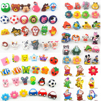 Cartoon Soft Gum Children Room Cabinet Drawer Knob Kids Wardrobe Handle Furniture Closet Dresser Pulls for Kids Nursery Rooms