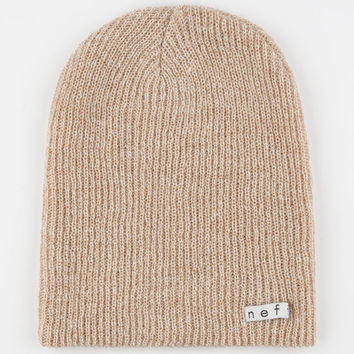 4629d87b37ee2 Neff Daily Heather Beanie Tan One Size For Men 24589941201