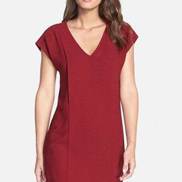 Women's KUT from the Kloth Stretch Crepe Shift Dress,