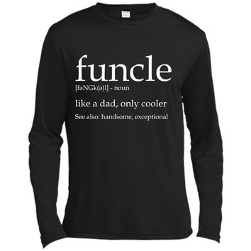 Mens Funcle Mens Funny Uncle Funcle Definition Tee Shirt