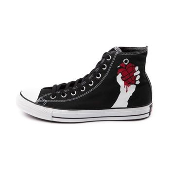 Converse All-Star Hi American Idiot Green Day Athletic Shoe, Black, at Journeys Shoes