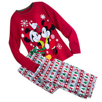 Mickey And Minnie Mouse Fun Family Pajamas for Women | Disney Store