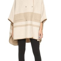 Blanket Stripe Cape
