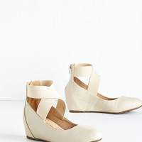 Limitless Loveliness Wedge in Ivory