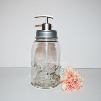 Mason Jar Soap Dispenser Vintage Clear Drey Perfect Mason Jar Soap Pump Kitchen Soap Dispenser Bathroom Soap Dispenser