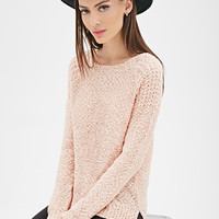 FOREVER 21 Everyday Textured Knit Sweater