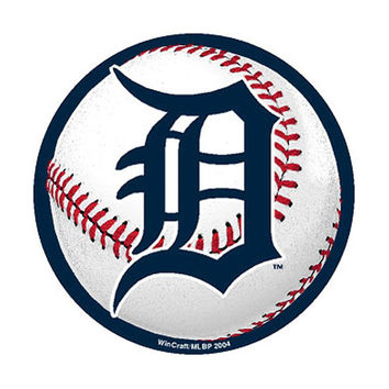 Detroit Tigers MLB Precision Cut Magnet