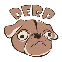 Derp Dog Cross Stitch Pattern | Los Angeles Needlework