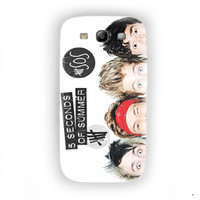 Second Of Summer Funny 5sos Collage For Samsung Galaxy S3 Case