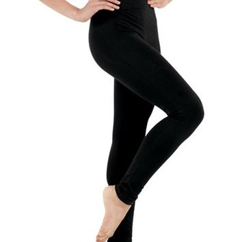 Cotton High-Waist Leggings