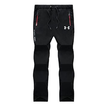 Under Armour Trending Men Stylish Pants Trousers Sweatpants Black I13888-1