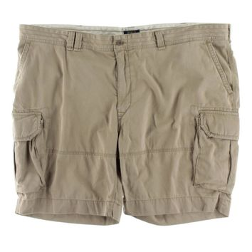 Polo Ralph Lauren Mens Big & Tall Deep Pocket Pleated Cargo Shorts
