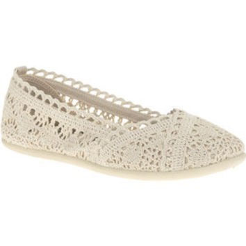 Walmart: Faded Glory Women's Crochet Slip On Shoes